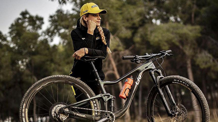 """""""Mi amor por el mountain bike llegó como un flechazo y ahora creo que no lo voy a dejar nunca"""""""