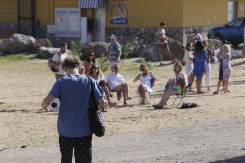 'Sky Rojo' rueda escenas en Tenerife