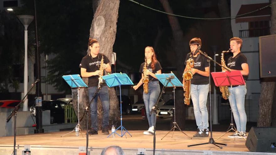 Synthèse Quartet encandiló al público de Los Pinos
