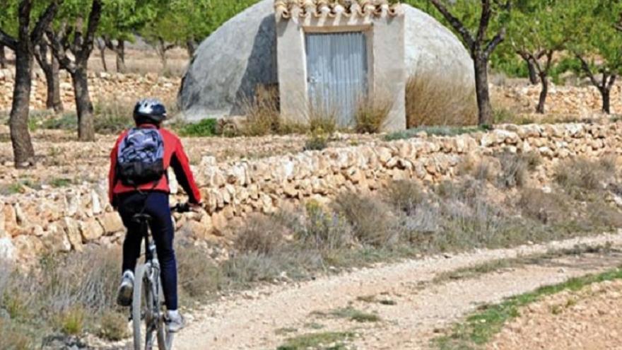 Ruta cicloturística: Pinoso - Algueña