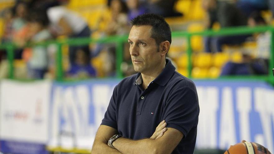 Natxo Lezkano, nuevo entrenador del Liberbank Oviedo