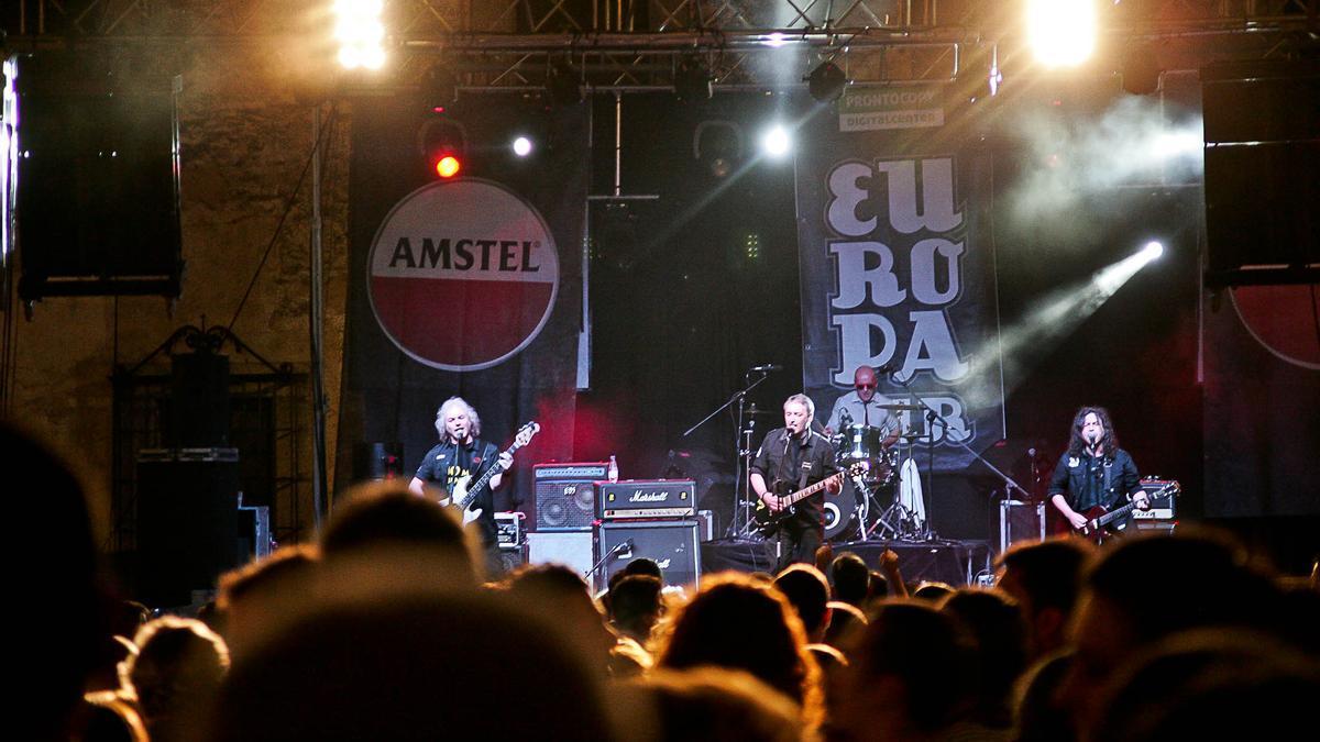 Un concierto en una de las ediciones de Europa Sur.