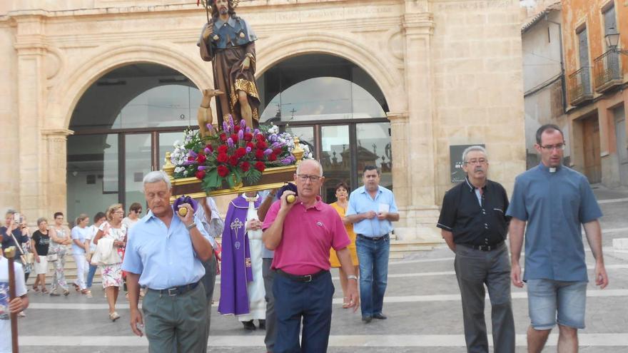 La procesión de San Roque de Jumilla vuelve a su horario tradicional