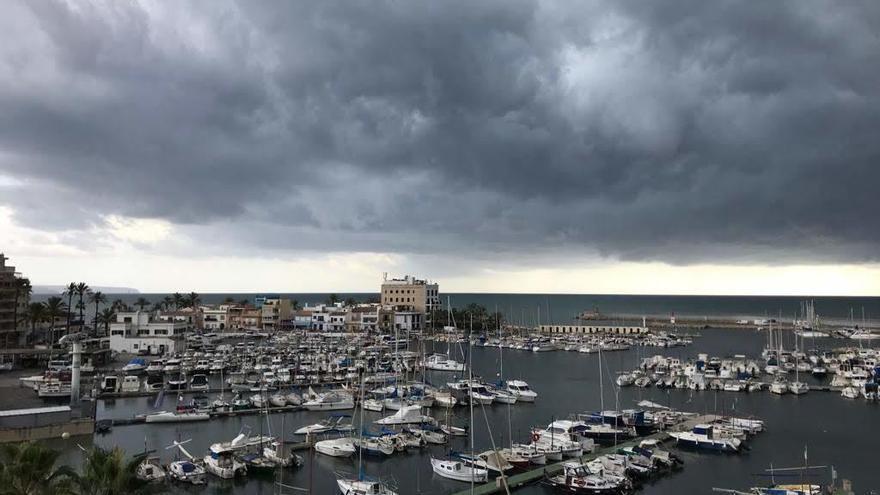 Una nueva DANA amenaza a Mallorca con lluvias fuertes y tormentas a partir del lunes