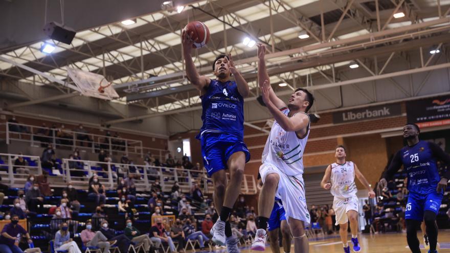 El Oviedo Baloncesto aplasta al Palma (105-67) y presenta candidatura al play-off de ascenso