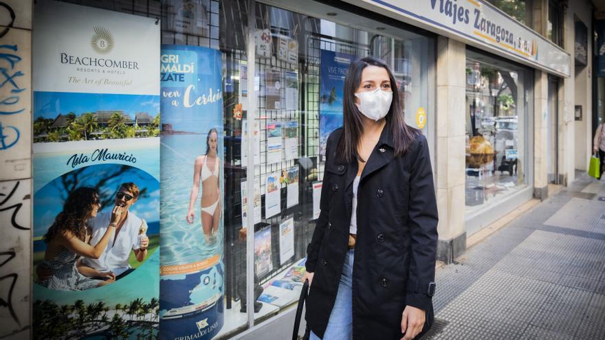 Inés Arrimadas estará este sábado en la protesta antiterrorista de Zaragoza