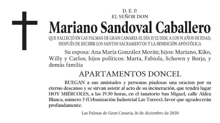 Mariano Sandoval Caballero