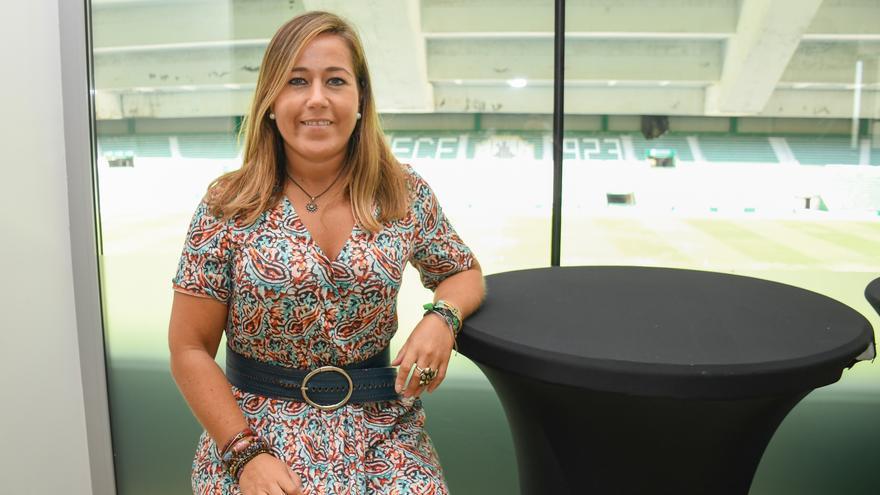 Patricia Rodríguez: «El ascenso debe servir para liquidar la deuda, mejorar el estadio y crecer como club»