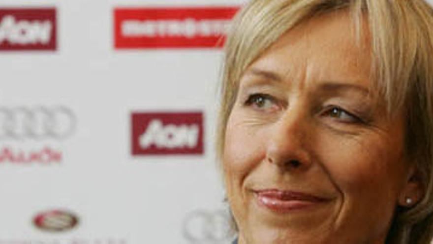 """Navratilova se queja de su sueldo en la BBC: """"McEnroe cobra diez veces más"""""""