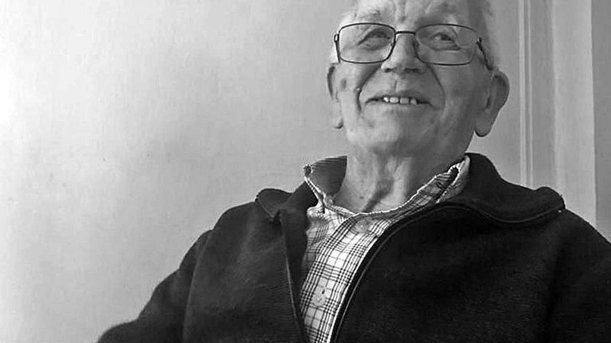 """La ciudad llora la pérdida del histórico socialista Luis Venancio Prieto """"Medero"""""""