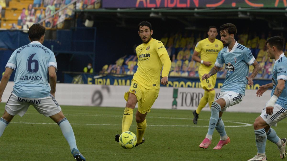 Dani Parejo no podrá jugar con el Villarreal ante el Valladolid por sanción, ya que vio la 5ª amarilla ante el Celta.