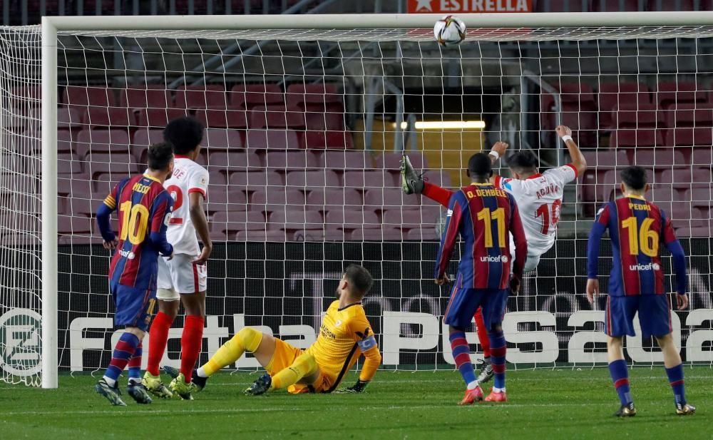 Copa del Rey: FC Barcelona - Sevilla.
