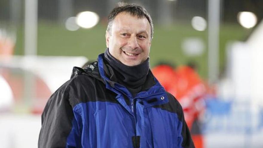 Manolo Díaz, 14º técnico del Hércules en siete años en Segunda B
