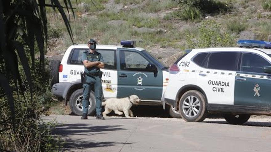La Guàrdia Civil cerca en una pedrera el cos de Marta Calvo