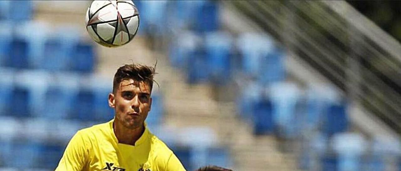 Pablo Álvarez, en su etapa en el Villarreal.   P. A.