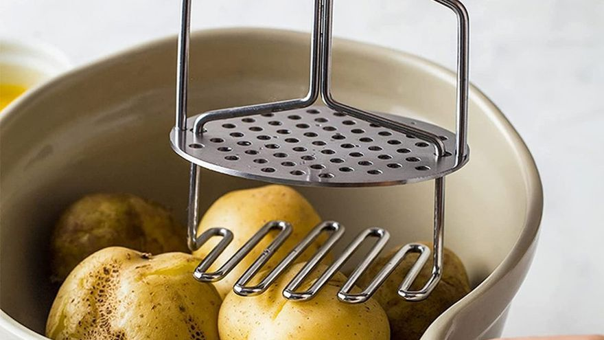 Prensas de patatas para hacer purés cremosos y sin grumos
