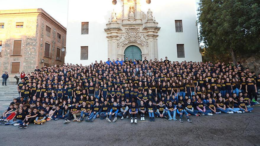 Ochocientos deportistas de la UCAM, en la Fuensanta