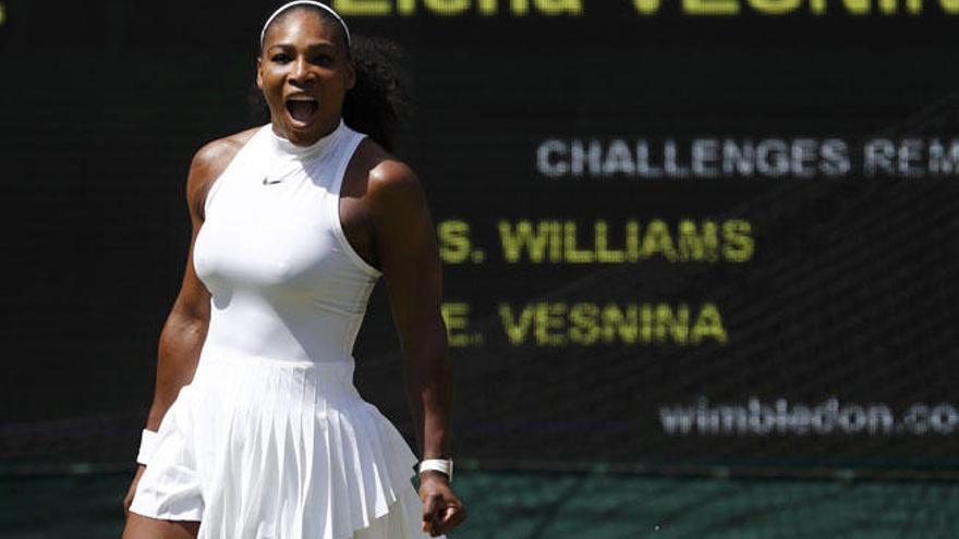 Serena Williams, decidida a defender sus oros en Río