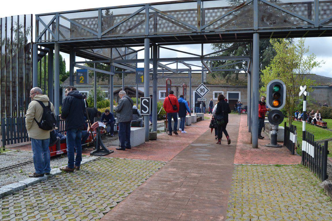 Ocio en Galicia: Parque ferroviario infantil Carrileiros