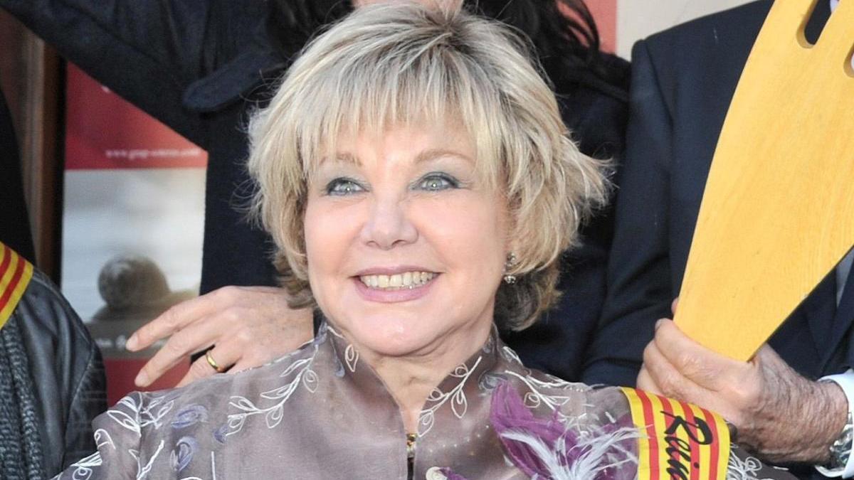 La cantante Karina.