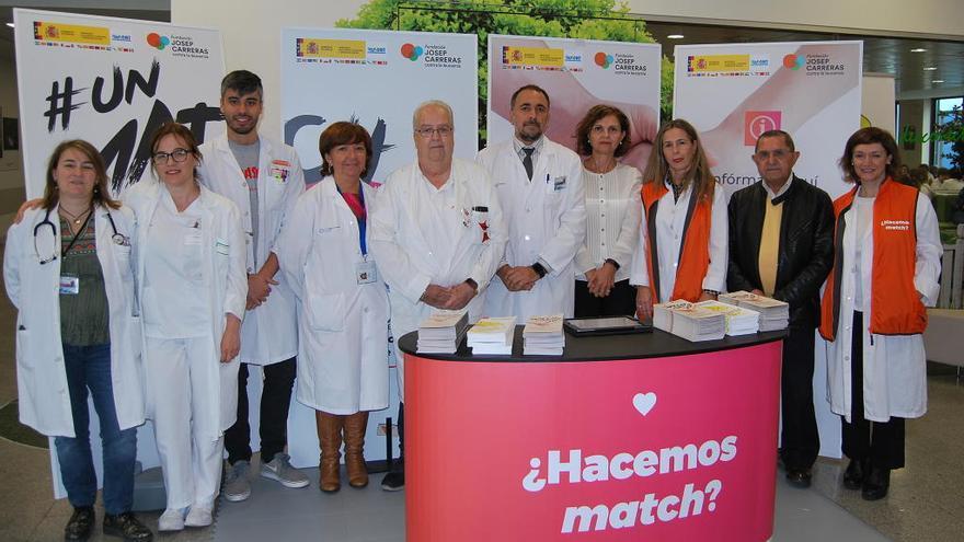 El Cunqueiro participa en el plan para conseguir 100.000 nuevos donantes de médula