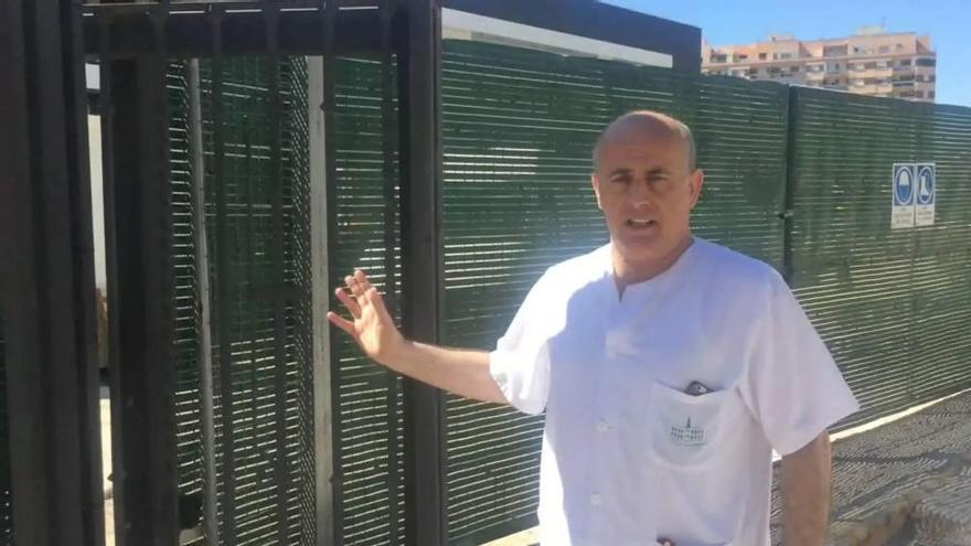 Muere al quedar atrapada por una puerta mecánica del Hospital Provincial de Castellón