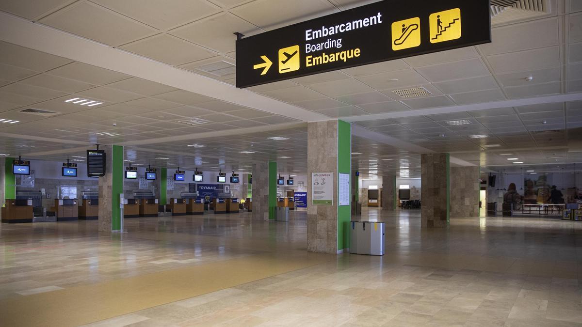Les instal·lacions de l'aeroport de Girona