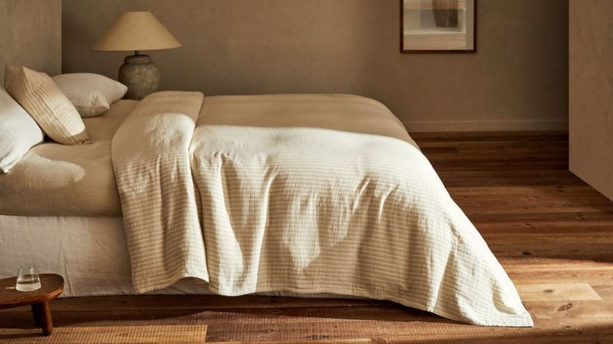 Tres colchas de algodón de Zara Home perfectas para tu habitación