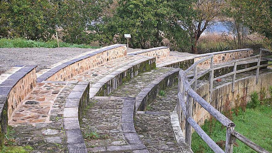 Mejoran la accesibilidad y señalización en el espacio recreativo de Vilarello