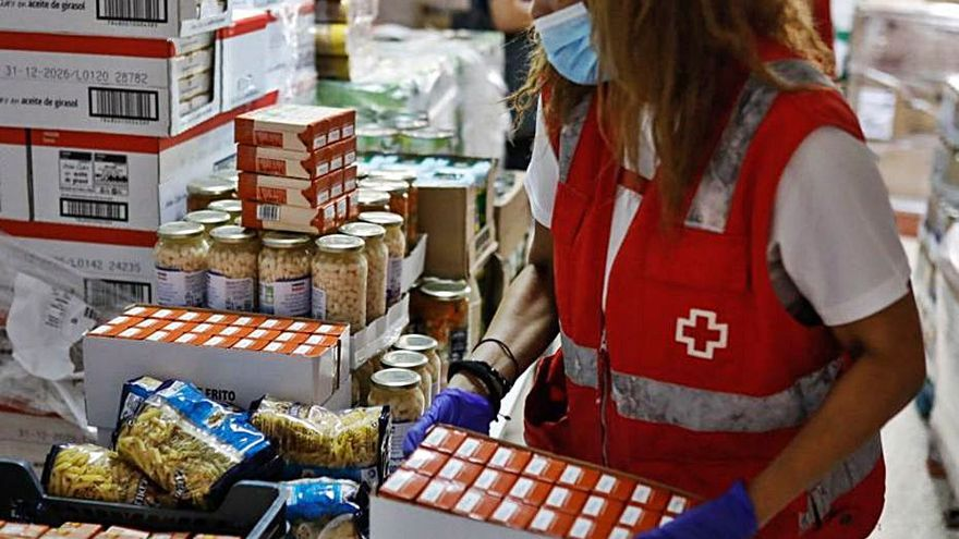 Cruz Roja repartirá más de 83.700 kilos de alimentos en Ibiza