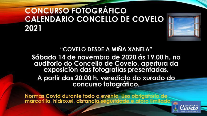 Concurso Fotográfico - Calendario Concello de Covelo 2021