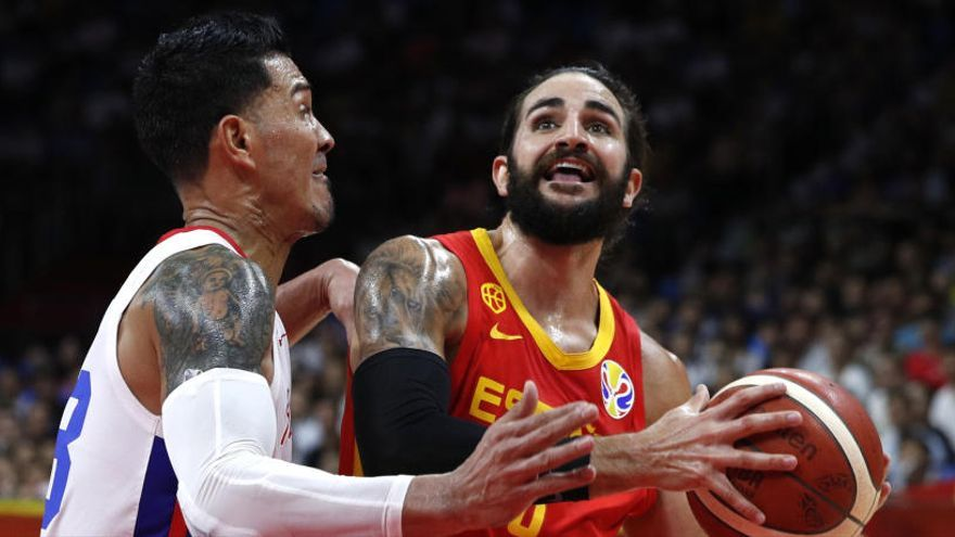 Espanya sap superar el joc combatiu de Puerto Rico