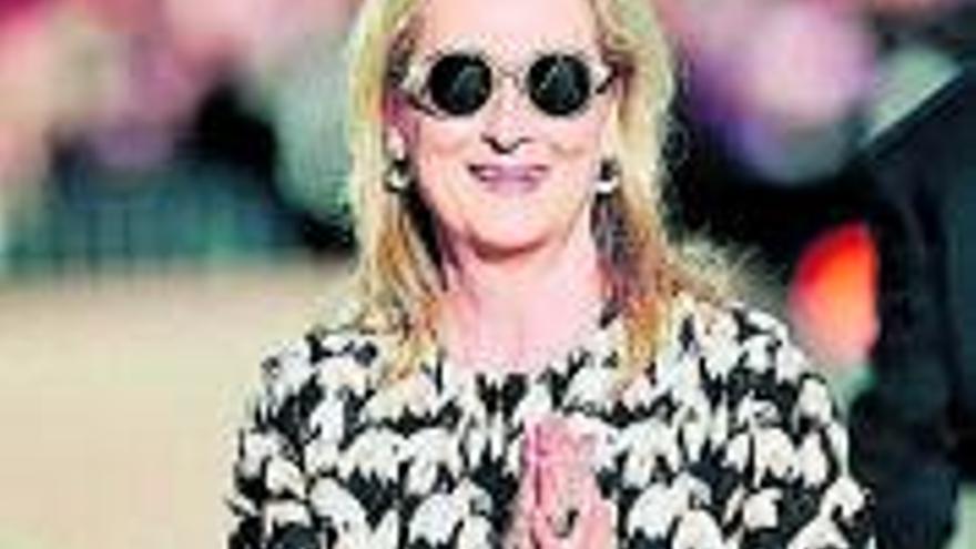 L'actriu Meryl Streep protagonitzarà una sèrie sobre el canvi climàtic