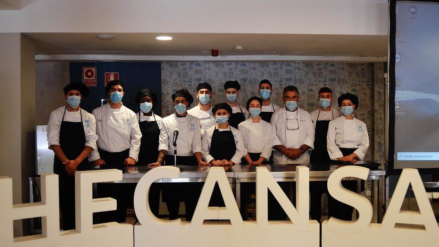 Unos 115 profesionales asisten desde enero a los cursos del Hotel Escuela Rural Casa de Los Herrera, en La Gomera