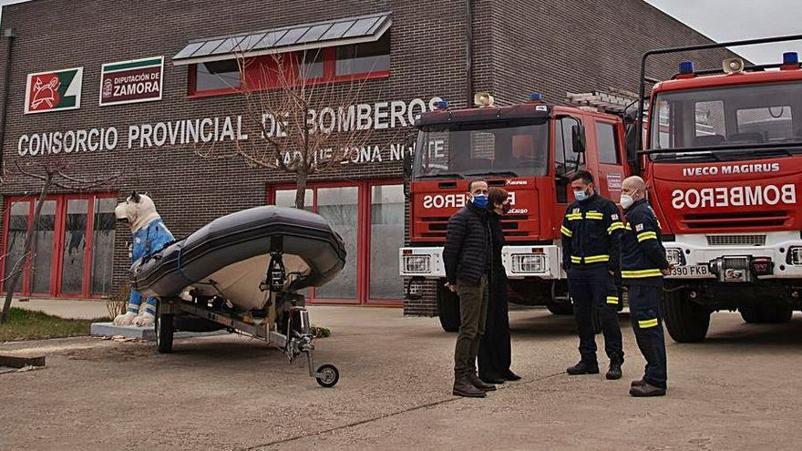 La Junta recomienda a Zamora contar con ocho nuevos parques de bomberos