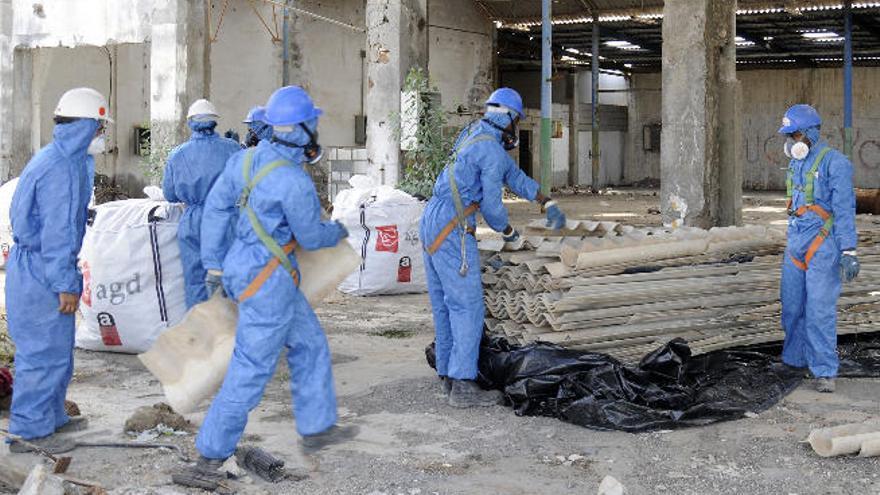 El Sureste elabora un censo de construcciones con amianto