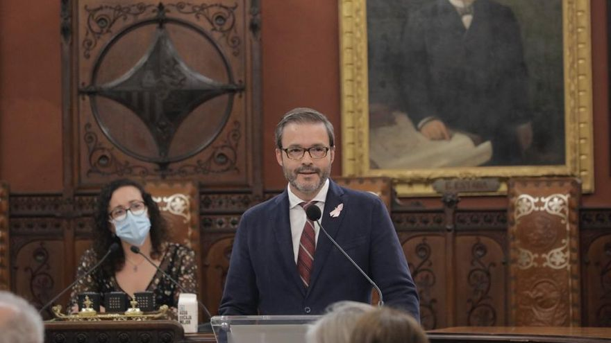 Hila garantiza que no subirá los impuestos en los próximos dos años en Palma