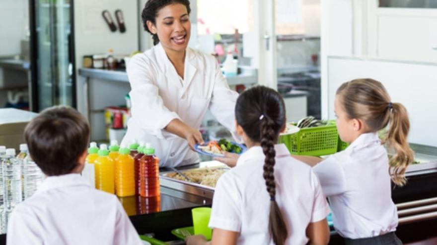 Los comedores escolares de Las Palmas precisan personal para diferentes puestos