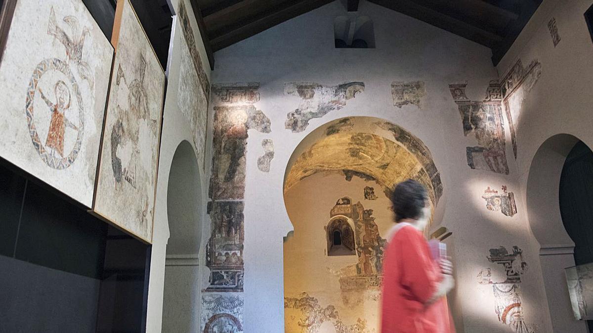 Espai dedicat a les pintures de Pedret al Museu de Solsona.  ARXIU/MIREIA ARSO