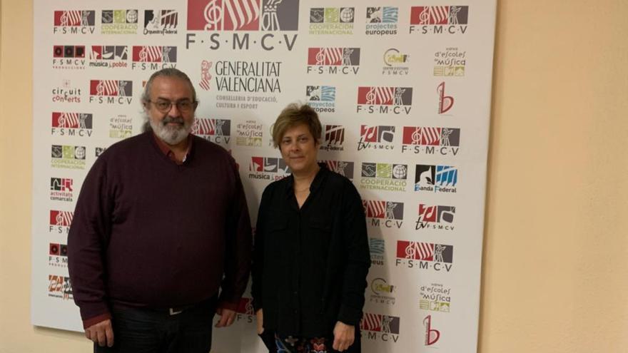 Alumnos del conservatorio realizarán prácticas en la Joven Orquesta y la Joven Banda de la FSMCV