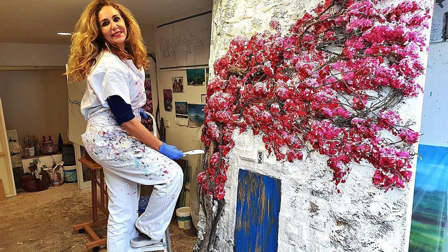 Marta Torres, una artista ibicenca internacional