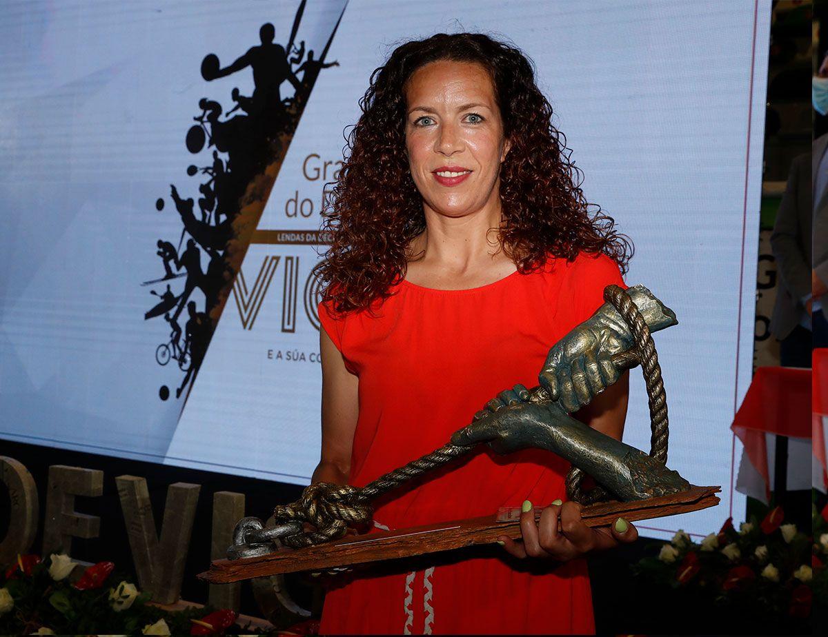 Begoña Fernández, premio a la mejor deportista de la década