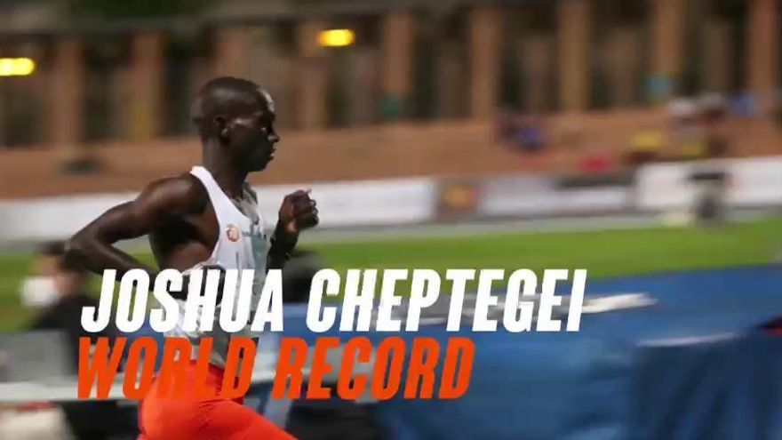 Cheptegei ¡bestial récord del mundo en València!