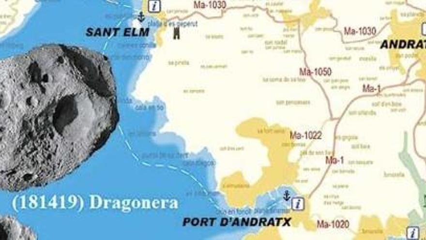 Neue Asteroiden-Namen: Andratx und Dragonera im Weltraum