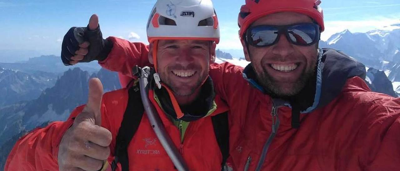 Misión cumplida: conquistar los Alpes