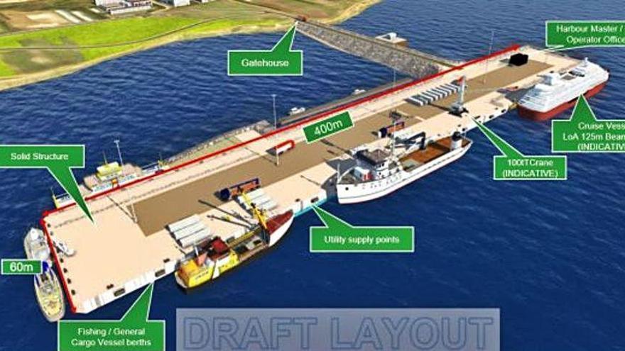 La flota gallega en Malvinas logra este año 60.600 toneladas y espera ya el nuevo puerto