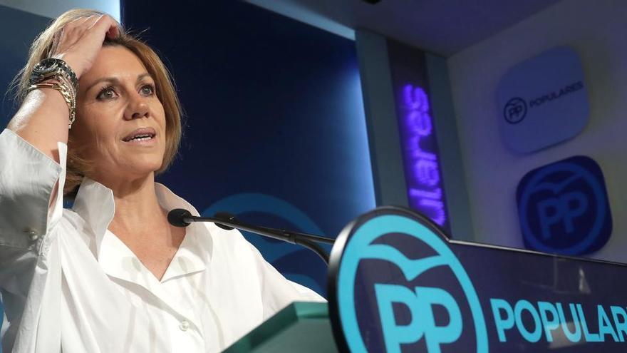"""Las grabaciones de Villarejo: """"Cospedal todavía me debe 100.000 pavos más gastos"""""""