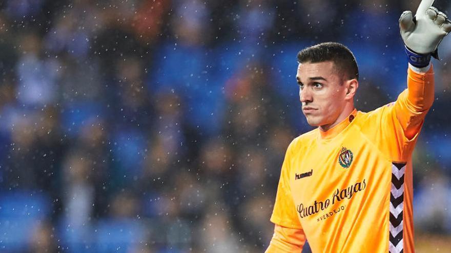 Los jugadores del Valladolid Masip y Alcaraz no irán con la selección catalana