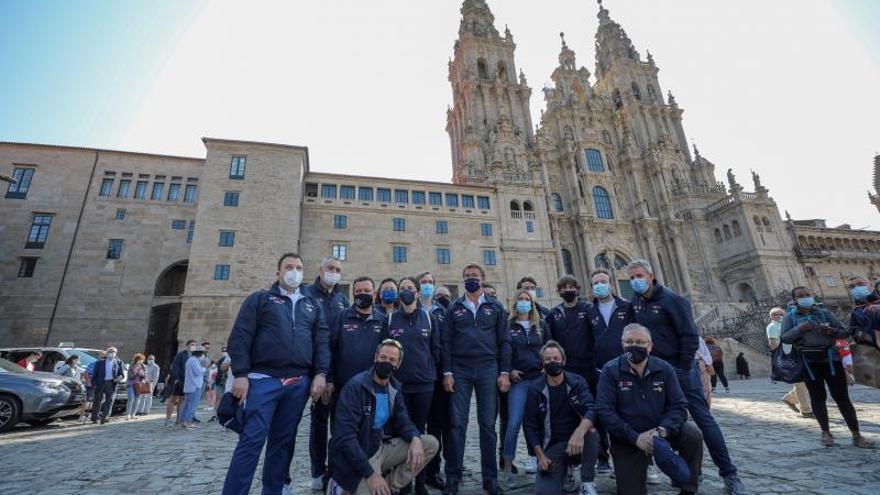 La catedral de Santiago se 'ilumina' con 44 estrellas Michelin