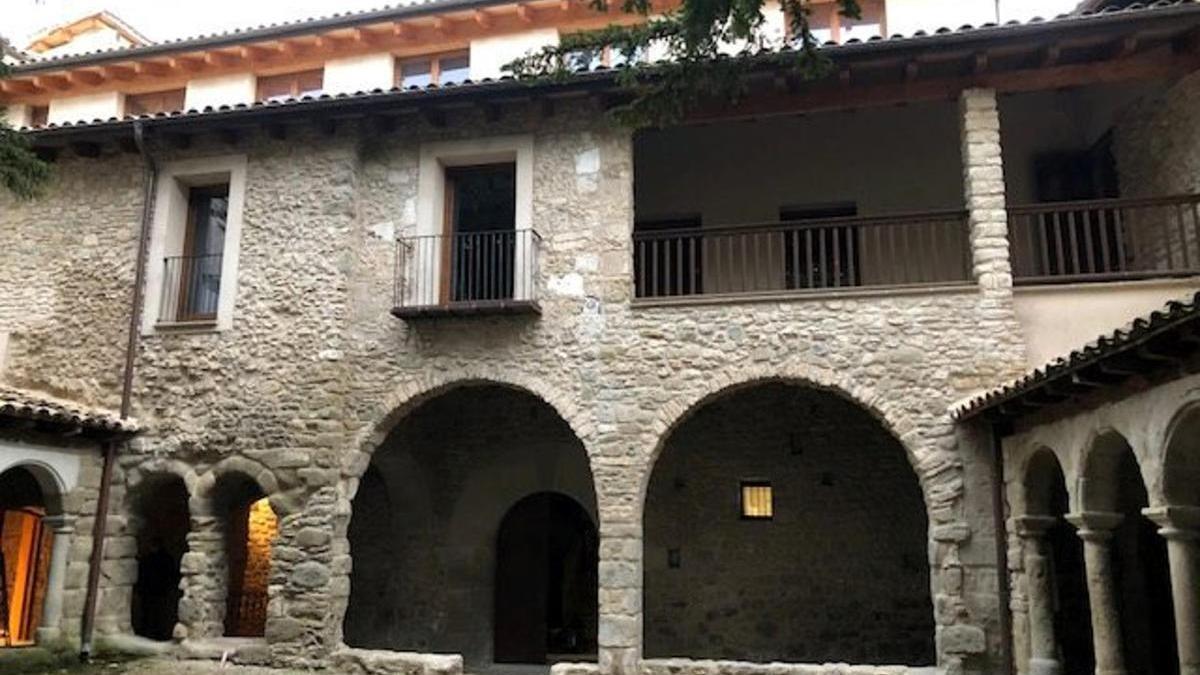 Finalitzen les obres de restauració del Monestir de Sant Llorenç de Morunys